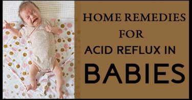 Home Remedies for Acid Reflux in Babies FB