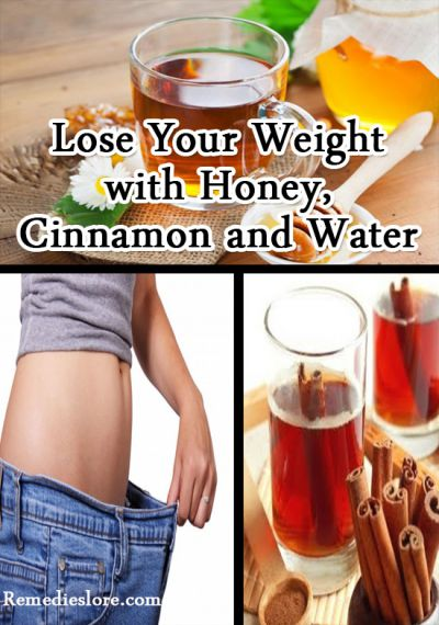 Honey Cinnamon And Water To Lose Weight Remedies Lore