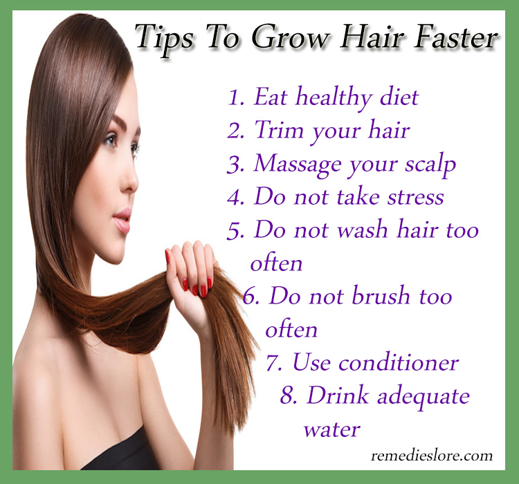 Natural Ways To Make Your Hair Grow Quick