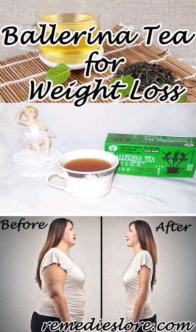 3 ballerina ceai de pierdere în greutate recenzii)