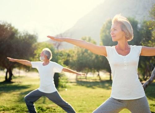 older-couple-yoga