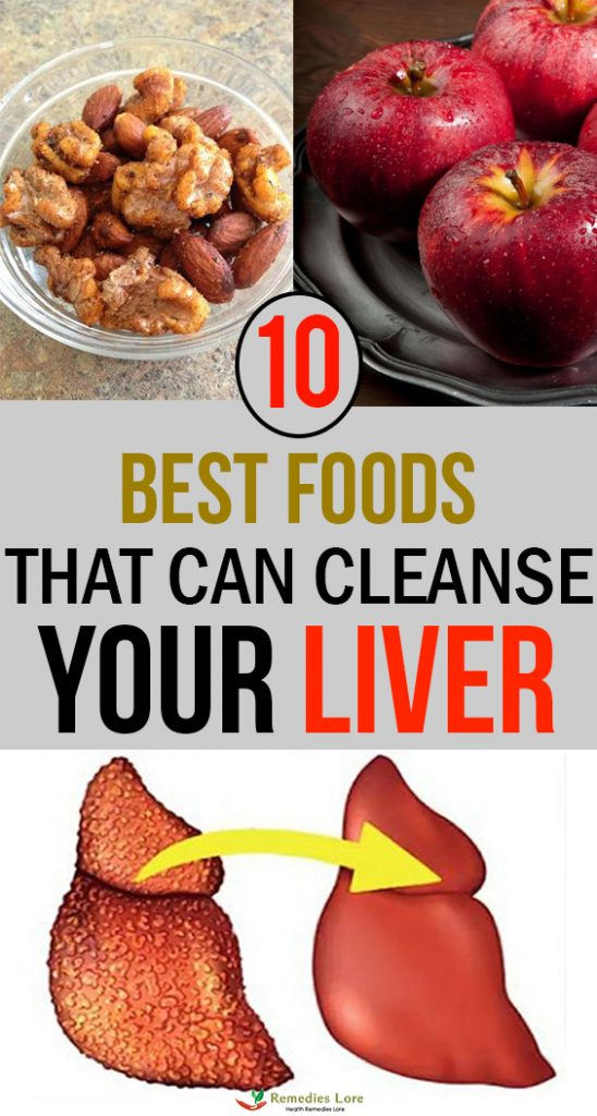 10 Best foods that can clense your liver