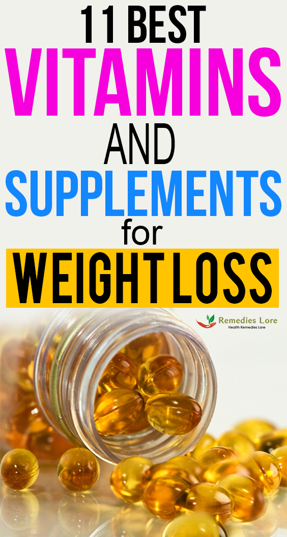 11 Best Vitamins and Supplements for Weight Loss fb