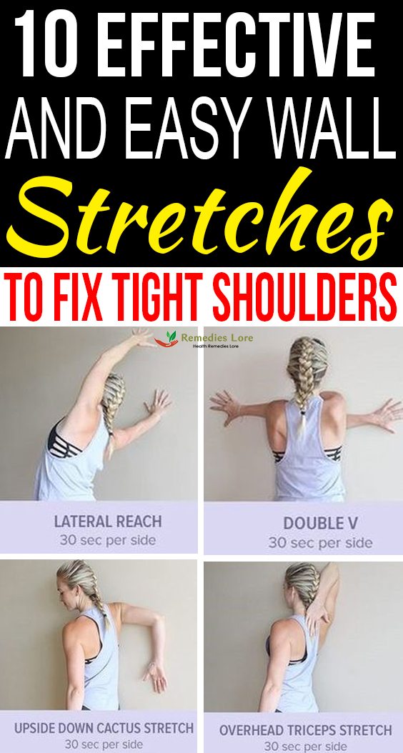 10 Effective and Easy Wall Stretches to Fix Tight Shoulders