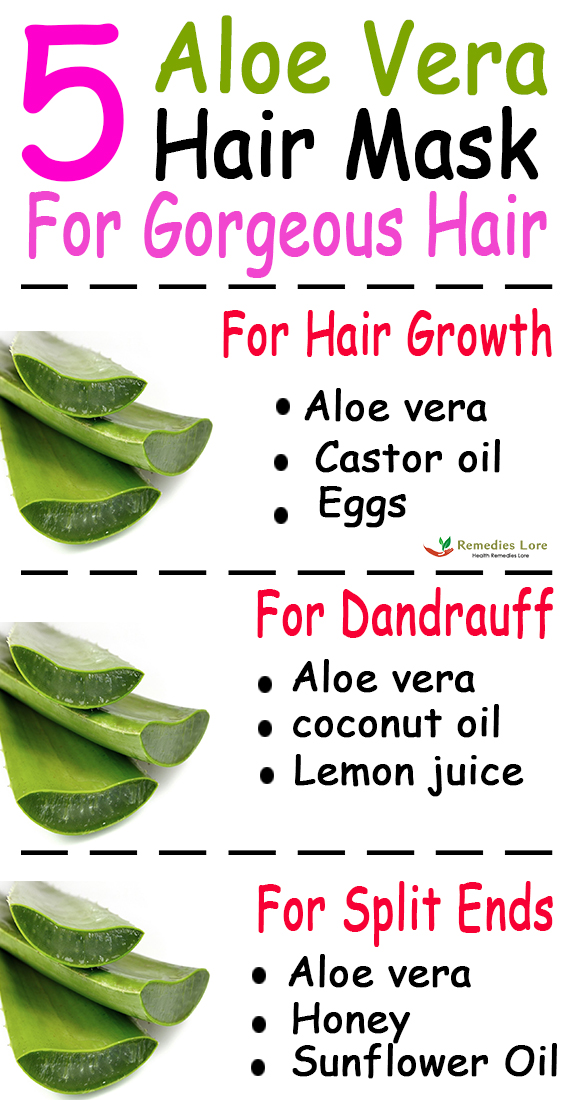 5 Aloe Vera Hair Mask For Gorgeous Hair