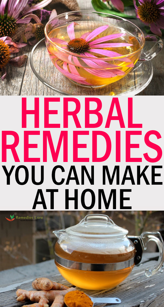 Herbal Remedies You Can Make at Home: